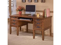 Wood Computer Desk With Hutch by Computer Desks Distressed Wood Office Desk Ashley Furniture