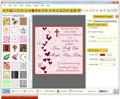 wedding invitations maker software wedding invitations wedding card maker software creates