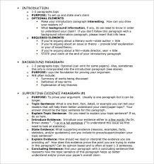 format for essay outline essay outline template 25 free sle exle format free