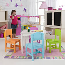 Kidkraft Table With Primary Benches 26161 Kidkraft Nantucket Primary Table And Chair Set 26121 Hayneedle