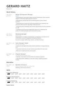 Resume Of Business Development Executive Business Development Manager Resume Sample Business Development