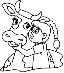 cow coloring pages wecoloringpage