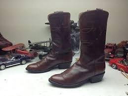 lucchese s boots size 9 lucchese classics cognac cowboy rodeo drive boots