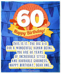 60 years birthday card 60th birthday wishes unique birthday messages for a 60 year
