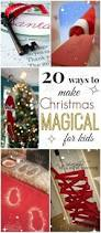 there are so many ways to make christmas magical for your little