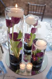 wedding decoration ideas multi flowers in glass stand vases and