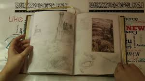 книга the lord of the rings sketchbook youtube