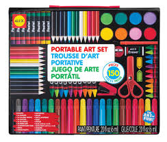 amazon com alex toys artist studio portable art set toys u0026 games