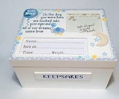 wooden baby keepsake box best 25 wooden memory box ideas on painted wooden