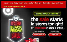 target black friday online 2012 holiday 2012 part xi u2013 what one can learn from promtional email
