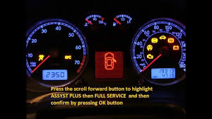 jeep patriot 2008 2012 how to reset service light indicator