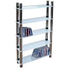 Media Storage Shelves by Matrix 5 Tier 165 Dvd Blu Ray 250 Cd Media Storage Shelves