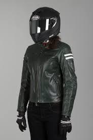 retro motorcycle jacket segura ladies retro leather jacket green white now 15 savings