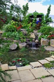 Rock Garden Waterfall Landscaper Garden Waterfalls Stratford On Avon