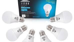 lohas led light bulbs 100 watt equivalent daylight 5000k a19