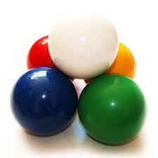 contact juggling balls