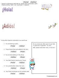 hola adiós u2013 printable spanish
