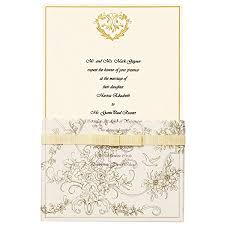 wedding invitations and gold wilton 25 pack wedding toile invitation gold home