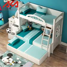 Bunk Bed With Slide Out Bed Beds With Pull Out Bed Bergamo Captain Bunk Bed With Desk