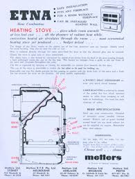 publicity leaflet metters kfb pty ltd solid fuel heaters circa 1950