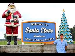 the hungry cowboy visits world in santa claus indiana