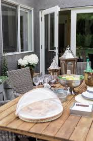 how to set a casual outdoor table french vintage style so much