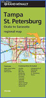 Map Of St Petersburg Florida by Tampa St Petersburg Map Map Travel Holiday Vacations