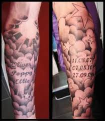 cloud tattoos designs and templates