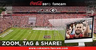 coke zero fan cam coke zero fancam at south carolina