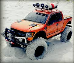Ford Raptor Nitro Truck - charles mcninich u0027s axial scx10 ford f 150 raptor rc car action