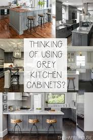 gray stained kitchen cupboards 20 fabulous kitchens featuring grey kitchen cabinets the