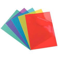 pochette bureau pochette coin pvc a4 couleurs assorties boite de 100 elba vente
