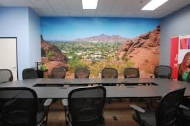 wall sensations conference room before after