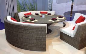 Curved Patio Sofa Mezzo Curved Sofa Section