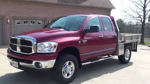 2006 dodge ram 2500 diesel for sale hd 2007 dodge ram 2500 slt 4x4 crew cab flat bed diesel for