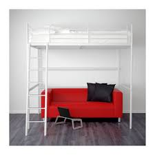 ikea tromso loft bed pending ikea tromso loft bed frame in white home furniture on