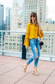eyelet flare shirtdress shirtdress chicago fashion and straw tote