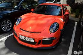 porsche gt3 rs orange porsche 991 gt3 rs 11 january 2017 autogespot