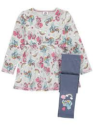 my little pony dress and leggings set kids george
