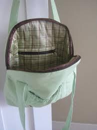 make it smirk the pea pod linen purse