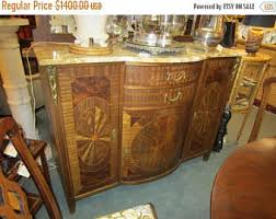 Marble Top Buffet by Buffet Marble Top Etsy