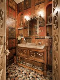 Orange Powder Room Rooms Viewer Hgtv