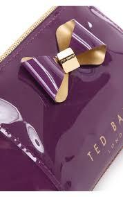 ted baker accessories denty make up bag lt purple blueberries