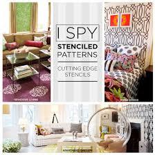 stencils for home decor ispy stenciled patterns stencil stories stencil stories