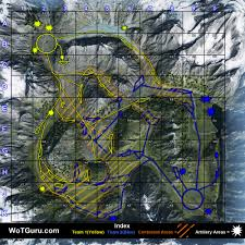 Little Creek Base Map Map Strategy Mountain Pass Wot Guru