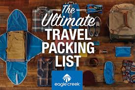 travel checklist images The ultimate travel packing checklist eagle creek jpg