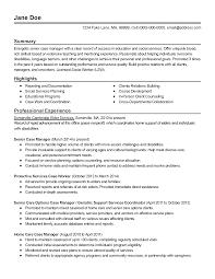 Case Management Resume Samples Excellent Resume Templates Good Resume Examples Good Sample 1