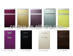 High Gloss Acrylic Kitchen Cabinets by High Gloss Acrylic Lacquer Finish Faced Kitchen Cabinet Door Wall