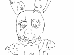 12 images of spring trap coloring pages freddy u0027s 3 nights at