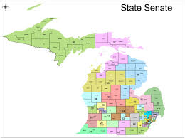 Michigan State Map Redistricting In Michigan New Political Maps From The Michigan